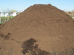 image of brown mulch